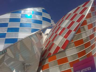 Photo Patrice HUCHET - Daniel Buren Fondation Louis Vuitton