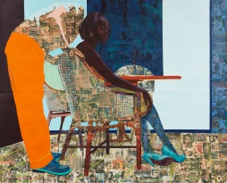And We Begin to Let Go - 2013 © Njideka Akunyili Crosby