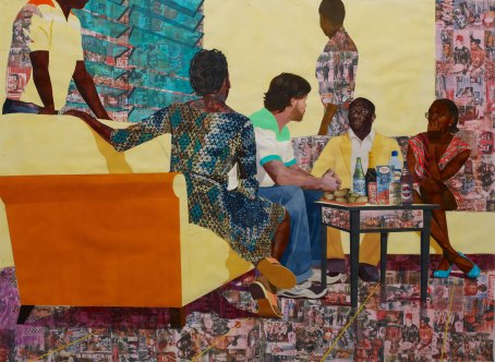 Something Split and New - 2013 © Njideka Akunyili Crosby