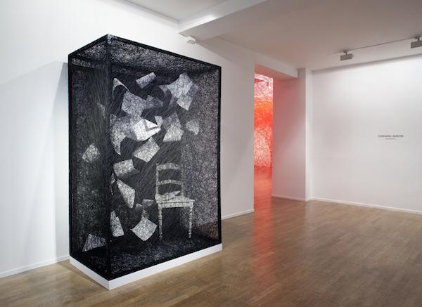 Vue de l'expo Destination_Galerie Daniel Templon_Paris 2017 (1)