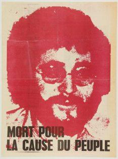 Affiche suite mort Pierre Overney