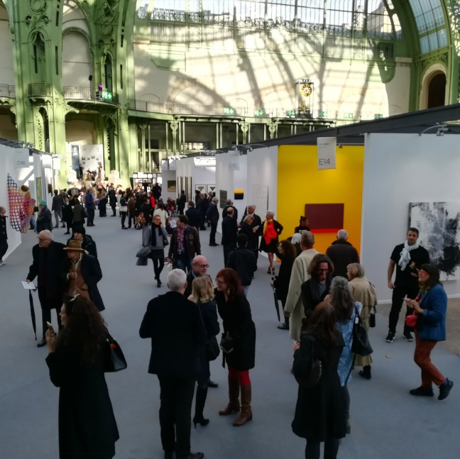 les allées de Art Paris Art Fair 2018