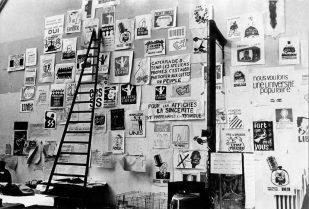mur d'affiches_Atelier Populaire