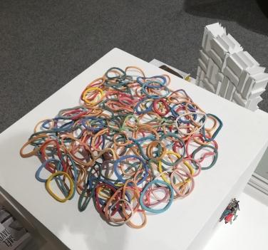 Davide Monaldi - elastici 2014 - Courtesy galerie Provost-Hacker